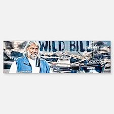 Wild_Bill_mug2 Sticker (Bumper)