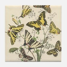 Unique Beautiful butterfly Tile Coaster
