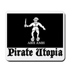 pirate utopia barth Mousepad