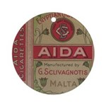 Egyptian Aida 2.jpg Ornament (Round)