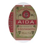 Egyptian Aida 2.jpg Ornament (Oval)