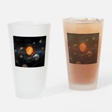 The Solar System Drinking Glass