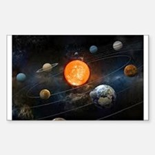 The Solar System Decal