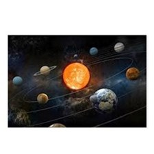 The Solar System Postcards (Package of 8)