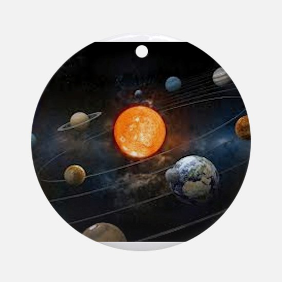 The Solar System Ornament (Round)