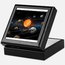 The Solar System Keepsake Box