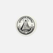 ontol anarch mystery sch Mini Button