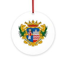 Gyor Hungary Round Ornament