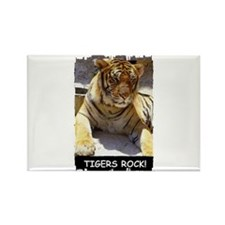 TIGERS ROCK! Rectangle Magnet