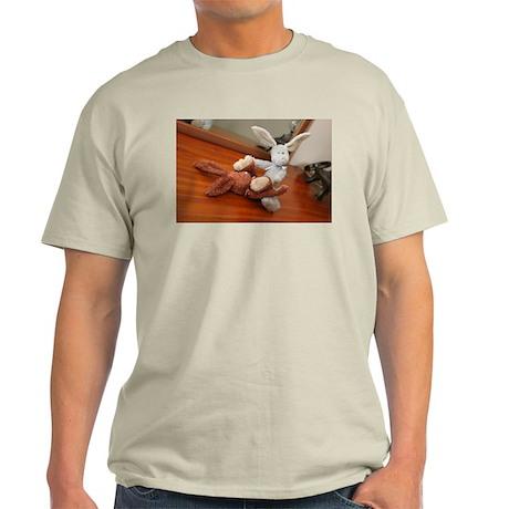 bad bunnies Ash Grey T-Shirt