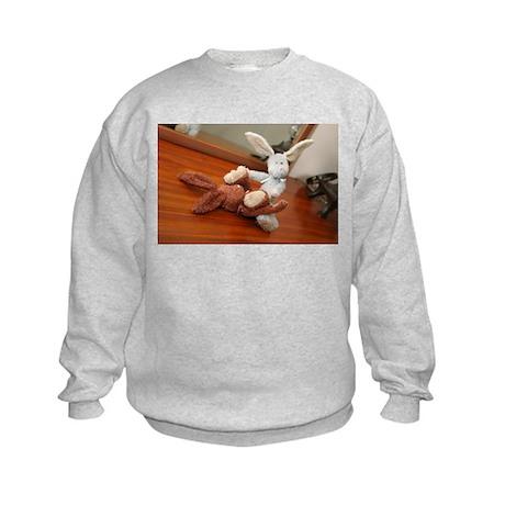 bad bunnies Kids Sweatshirt