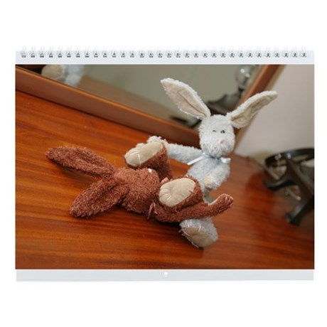 bad bunnies Wall Calendar