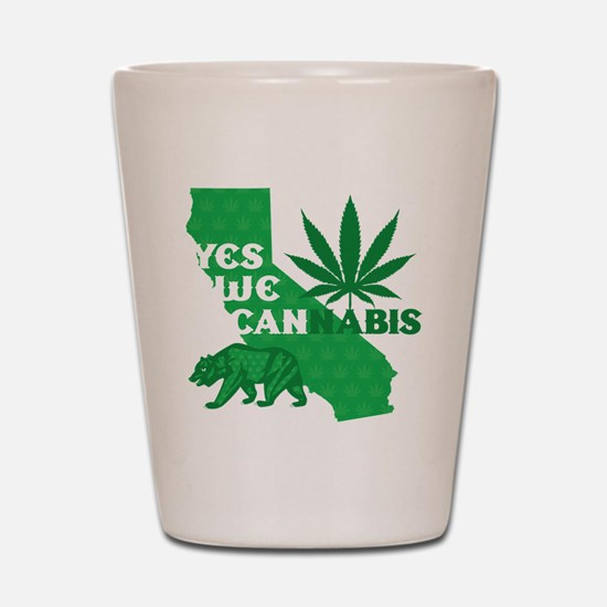 yesweCANnabis Shot Glass