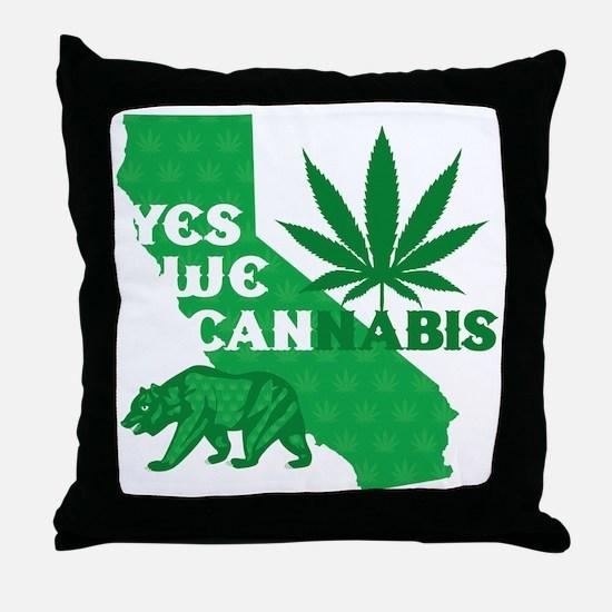 yesweCANnabis Throw Pillow