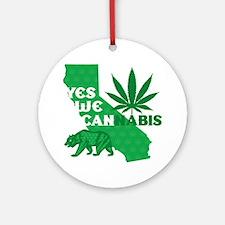 yesweCANnabis Round Ornament