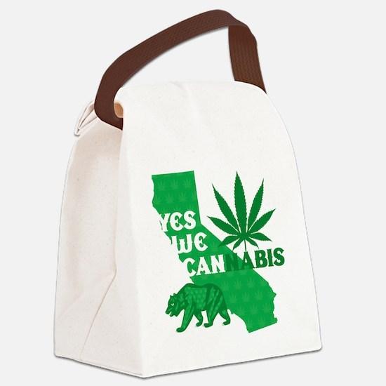 yesweCANnabis Canvas Lunch Bag