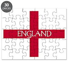PC English Flag - England Mil Puzzle