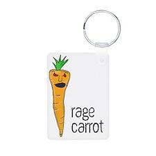 Rage Carrot Keychains