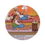 Egyptian Aristocratic.jpg Ornament (Round)