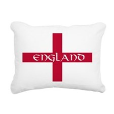 NC English Flag - Englan Rectangular Canvas Pillow