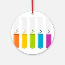 Chemistry Test Tubes Ornament (Round)