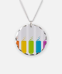 Chemistry Test Tubes Necklace
