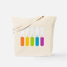 Chemistry Test Tubes Tote Bag