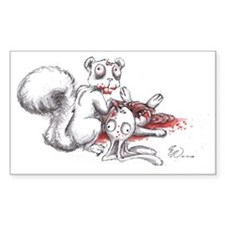 Zombie Squirrel Decal