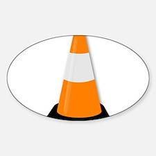 Traffic Cone Decal