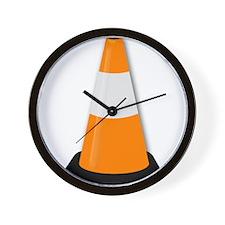 Traffic Cone Wall Clock