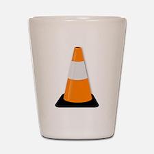 Traffic Cone Shot Glass