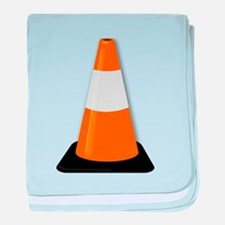 Traffic Cone baby blanket