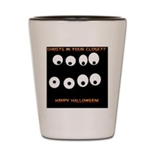 Ghosts Shot Glass