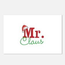 Christmas Mr Personalizable Postcards (Package of