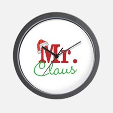 Christmas Mr Personalizable Wall Clock