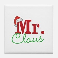 Christmas Mr Personalizable Tile Coaster