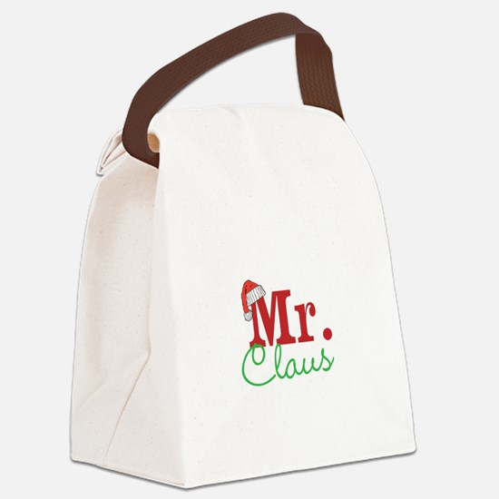 Christmas Mr Personalizable Canvas Lunch Bag