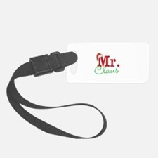 Christmas Mr Personalizable Luggage Tag
