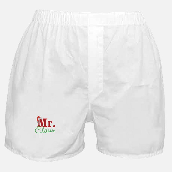 Christmas Mr Personalizable Boxer Shorts