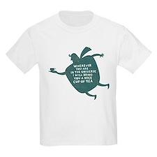 Tea Boy Kids T-Shirt