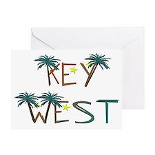 KeyWest Greeting Card