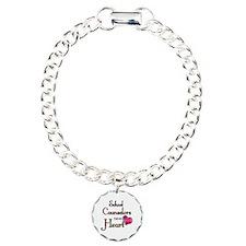 Teachers Have Heart coun Charm Bracelet, One Charm