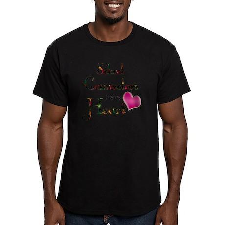 Teachers Have Heart co Men's Fitted T-Shirt (dark)