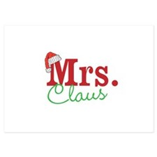 Christmas Mrs personalizable Invitations