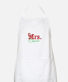 Christmas Mrs personalizable Apron