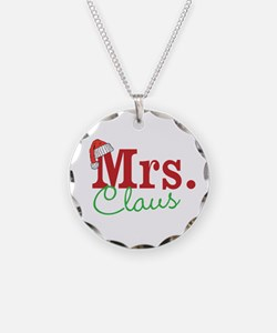 Christmas Mrs personalizable Necklace