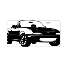 NA black Aluminum License Plate