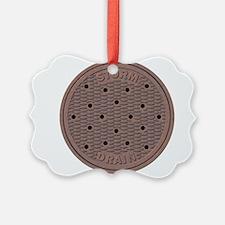 Manhole Cover Ornament