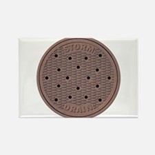 Manhole Cover Magnets