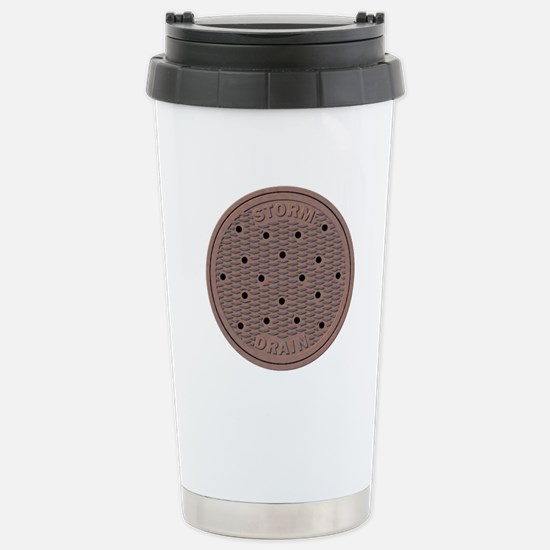 Manhole Cover Travel Mug
